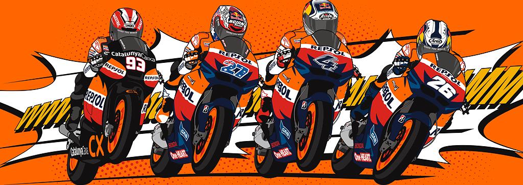 Repsol Honda Team 2011 Image Spirit